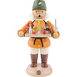 Räuchermännchen Spielwarenverkäufer  -  23cm