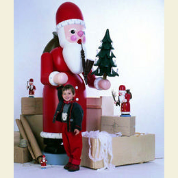 Räuchermännchen Weihnachtsmann  -  220cm