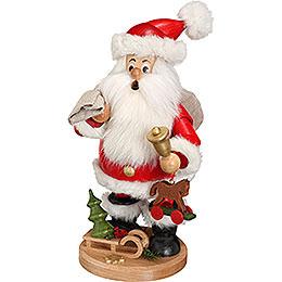 Räuchermännchen Weihnachtsmann mit Geschenke  -  22cm