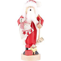 Räuchermännchen Weihnachtsmann mit Puppe  -  25cm