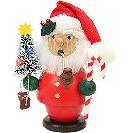 Räuchermännchen Weihnachtsmann rot  -  13cm