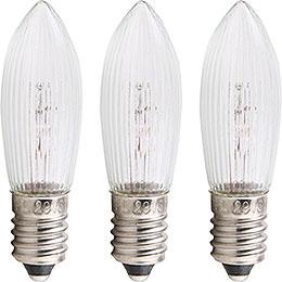 Rippled Bulb  -  E10 Socket  -  12V/3W
