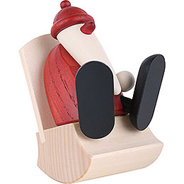 Santa Claus in Rocking Chair  -  9cm / 3.5 inch
