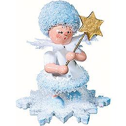Schneeflöckchen mit Stern  -  5cm