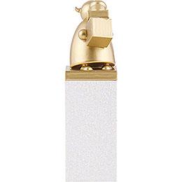 Schutzengel Gold mit Päckchen  -  8cm