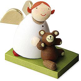 Schutzengel mit Teddy  -  3,5cm