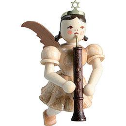 Schwebeengel Oboe, natur  -  6,6cm