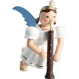 Schwebengel farbig Oboe  -  6,6cm