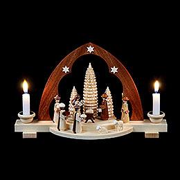 Schwibbogen Christi Geburt  -  30cm