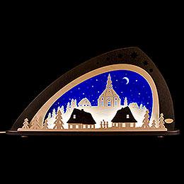 """Schwibbogen LED """"Seiffen""""  -  66x33,8cm"""