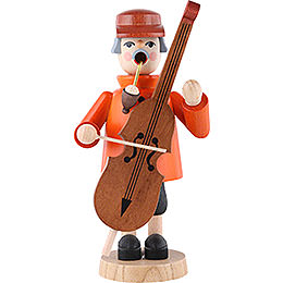 Smoker  -  Bass Violin Player  -  19cm / 7 inch