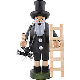 Smoker  -  Chimney Sweeper with Ladder  -  18cm / 7 inch