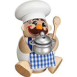 Smoker  -  Cook/Chef  -  Ball Figure  -  12cm / 5 inch