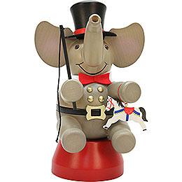 Smoker  -  Elephant Ringmaster  -  22cm / 8.7 inch
