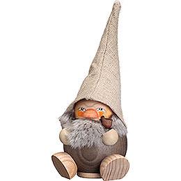 Smoker  -  Forest Dwarf Stonegray  -  Ball Figure  -  18cm / 7 inch