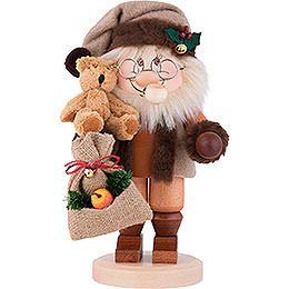 Smoker  -  Gnome Santa Claus  -  28,0cm / 11 inch