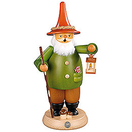 Smoker  -  Gnome with Lantern  -  25cm / 10 inch