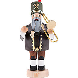 Smoker Miner with Trombone -  20cm / 8 inch