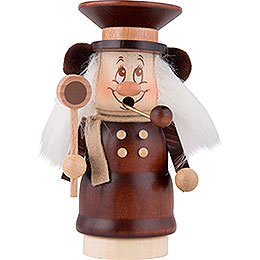Smoker  -  Mini Gnome Train Conductor  -  14,0cm / 5.5 inch