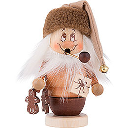 Smoker  -  Mini Gnome with Package  -  14,0cm / 6 inch