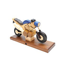 Smoker  -  Motorcycle Touring Blue 27x18x8cm / 11x7x3 inch