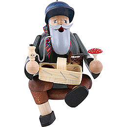 Smoker  -  Mushroom Picker  -  Edge Stool  -  14cm / 6 inch