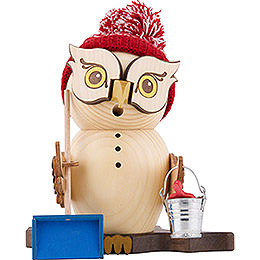 Smoker  -  Owl Snow Sweeper  -  15cm / 5.9 inch
