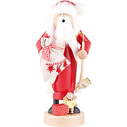 Smoker  -  Santa with Doll  -  25cm / 10 inch