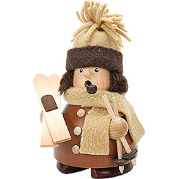 Smoker  -  Skier Natural Wood  -  14,5cm / 6 inch