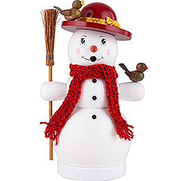 Smoker Snow Woman  -  25cm / 9.8 inch