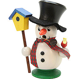Smoker  -  Snowboy with Bird House  -  10,5cm / 4 inch
