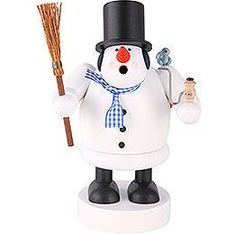 Smoker  -  Snowman  -  20cm / 8 inch