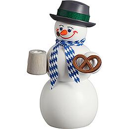 Smoker  -  Snowman Bavarian  -  14cm / 5.5 inch