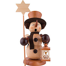 Smoker  -  Snowman Star Bearer Natural  -  60cm / 24 inch