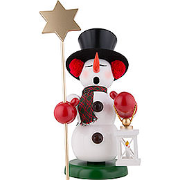 Smoker  -  Snowman Star Carrier  -  60cm / 23.6 inch