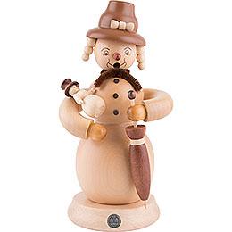 Smoker  -  Snowwoman  -  23cm / 9 inch