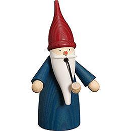 Smoker  -  Traditional Gnome Blue  -  16cm / 6 inch