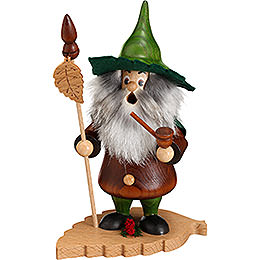 Smoker  -  Tree Gnome, Beech Leaf  -  18cm / 7 inch