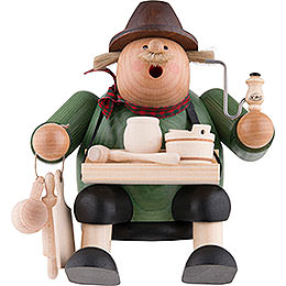 Smoker Woodcraft Seller  -  15cm / 6 inch