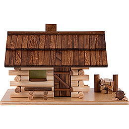 Smoking Hut  -  Forest Hut  -  10cm / 4 inch