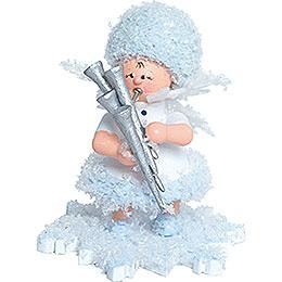 Snowflake with Shawm  -  5cm / 2 inch