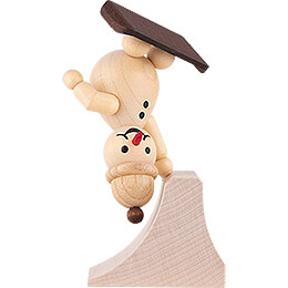 "Snowman  -  Junior ""Freestyle"" with cap  -  14cm / 5.5 inch"