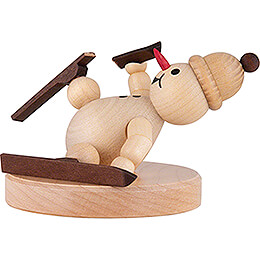 "Snowman  -  Junior ""Ski Accident  -  7cm / 2.8 inch"