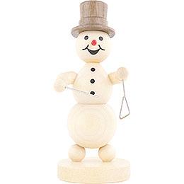 Snowman Musician Triangle  -  12cm / 4.7 inch