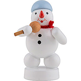 Snowman Sänger with Microphone  -  8cm / 3 inch