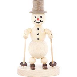 Snowman Skier  -  13cm / 5.1 inch