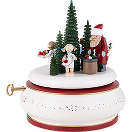 """Spieldose """"Das Weihnachtsfest""""  -  15cm"""