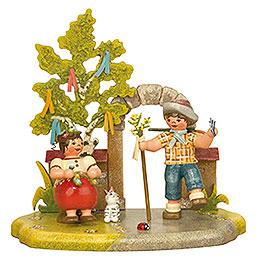 Spring Season  -  13x12cm / 5,2x4,7 inch