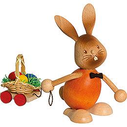 Stupsi Hase mit Eierwagen  -  12cm