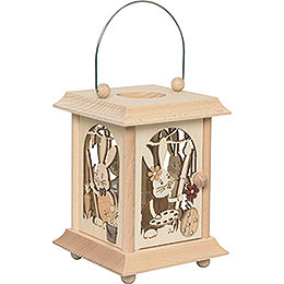 Table Lantern Snubby  -  17cm / 6.7 inch